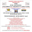CELEBRITY CHARITY GOLF DAY - UPCHURCH RIVER VALEY GOLF CLUB, RAINHAM, KENT - 18TH JULY 2012